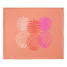 tropical pineapple duvet u0026 comforter covers zazzle