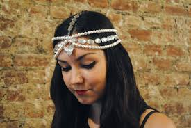pearl headpiece diy pearl headpiece m j