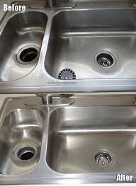 how to polish stainless steel sink how to clean a stainless steel sink and make it shine simple