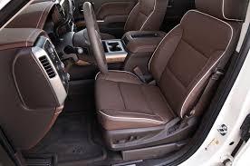 Silverado 2013 Interior 2014 Chevrolet Silverado High Country 4x4 First Test Truck Trend