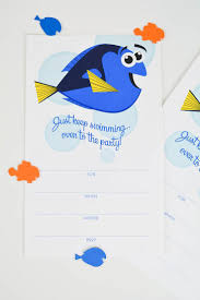 these amazing finding dory printables will make your kid u0027s party