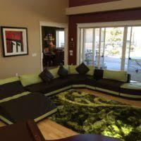 u shaped leather sectional sofa living room u shaped dark brown leather sectional sofa with back