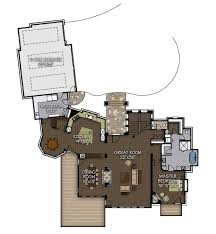 the sanctuary floor plan by canadian timber frames ltd