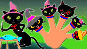 halloween black cat wallpaper black cat finger family halloween song for kids kids tv s01 ep74