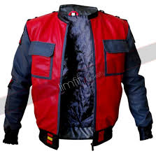 Marty Mcfly Costume Back To The Future 2 Marty Mcfly Replica Jacket