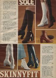 womens boots in 1970s fashion for 70s fashion trends photos and more