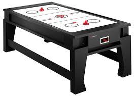 air hockey combo table atomic g05204aw game choice 2 in 1 air hockey billiard combination
