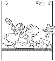 super mario coloring boys coloring pages mario
