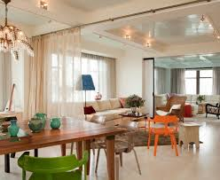 contemporary dining room decorating ideas elegant curtain room divider