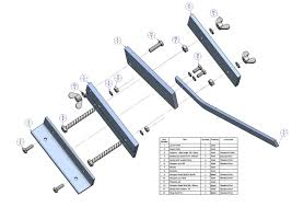 sheet metal bench shear plan parts list projects to try