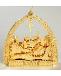 spectacular deal on danbury mint annual gold ornaments