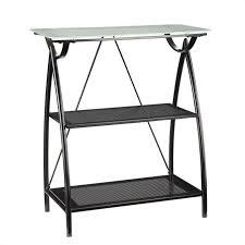 2 Shelf Black Bookcase Furniture Palace