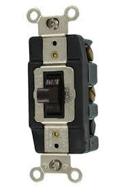 leviton 1288 30 amp 120 volt toggle double pole ac quiet switch