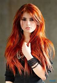 Light Brown Auburn Hair Light Brown Red Hair Color For Long Layered Hairstyles With Side