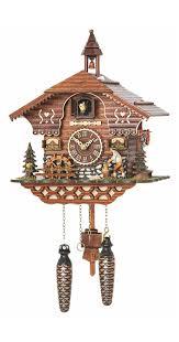 German Clocks Amazon Com Quartz Cuckoo Clock Black Forest House With Moving