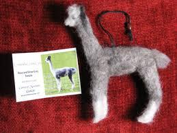 cameron mountain alpacas store felting alpaca ornaments