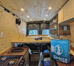 Conversion Van Accessories Interior Our Ford Transit Diy Camper Van All The Details From The