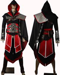 Ezio Halloween Costume Assassin U0027s Creed Brotherhood Ezio Cosplay Costume Unique Halloween