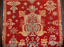 Antique Persian Rugs by Cube Ottoman With Antique Persian Rug Mecox Gardens