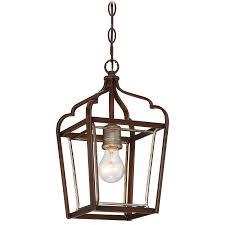 Indoor Lantern Pendant Light by 4341 593 Minka Group