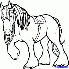 brave coloring pages cooloring clydesdale horse coloring
