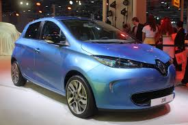 renault zoe engine auto expo 2014 renault zoe shown in energy blue metallic paint