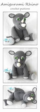 etsy crochet pattern amigurumi amigurumi rhino toy pattern by viktorija dineikiene rhinos