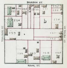 New Orleans Hotel Map by