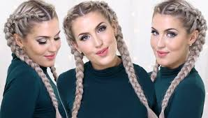 hairstyles to do with plaited extensions how to dutch braids with clip in extensions youtube
