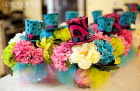 Mad Hatter Tea Party Centerpieces by Madhatter Theme Alice In Wonderland Tea Party Bridal Shower