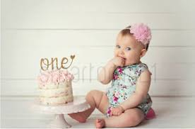 one cake topper glitter gold silver one cake topper 1st birthday girl boy