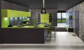 cuisine gris et vert la cuisine gris de su mur anis deco cuisines cuisine et