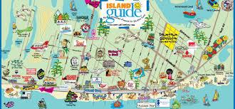 map of galveston galveston map island guide magazine