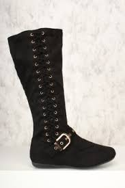 womens flat black boots size 11 boots cheap boots cheap womens boots knee high heels boots