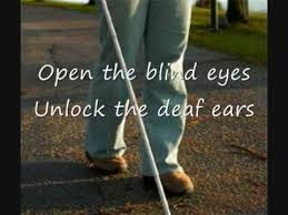 The Blind Will See The Deaf Will Hear Lyrics Hear Us From Heaven With Lyrics Youtube