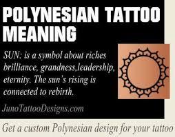 polynesian sun symbol meaning junotattoodesigns