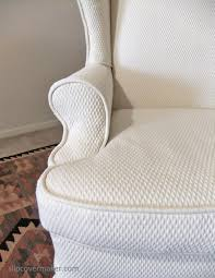 matelasse slipcover for wingback chair the slipcover maker