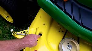 John Deere 48c Mower Deck Belt by Potential Problem With John Deere Mower Deck Youtube