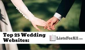 wedding fund websites wedding websites the top 25 list listsforall
