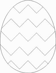 easter egg template clipart 96