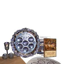 messianic seder plate messianic passover seder kit voice