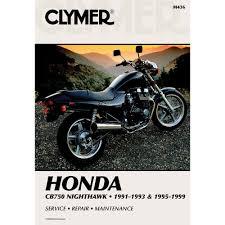 amazon com clymer repair manual for honda cb750 nighthawk 91 93