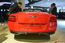 bentley v8s convertible frankfurt 2013 bentley continental gt v8 s convertible gtspirit