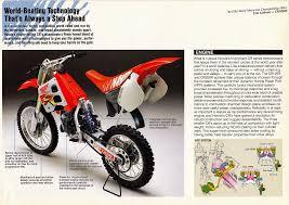 honda racing motocross honda cr lineup 1991 usa 03 jpg 1 600 1 134 pixel honda cr