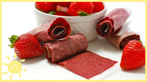 eat homemade fruit roll ups youtube