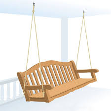 Patio Swing Folds Into Bed How To Build And Hang A Porch Swing Porch Swings Porches And Porch