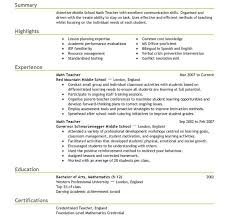 student teaching resume examples sample teaching resume template