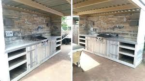fabriquer cuisine exterieure cuisine construction d un barbecue sur mesure renaud le beton plan