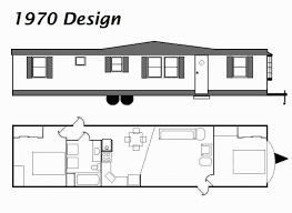 pretty inspiration 13 1970 mobile home floor plans single wide