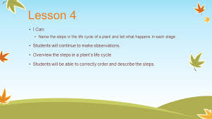 life cycle of plants 2nd grade ppt download